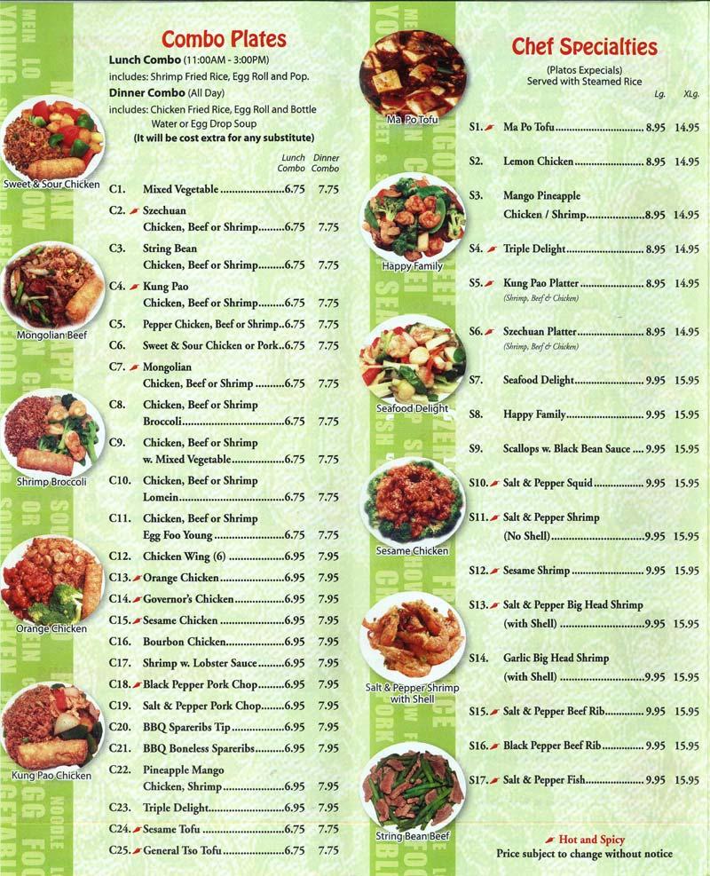 Wen cai chinese kitchen for W kitchen verbier menu